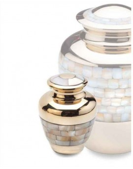 Keepsake Urn - Mother of Pearl